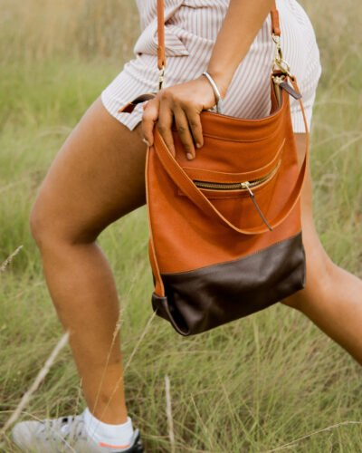 custom made soft leather bag