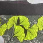 Custom made wax print bomber jacket within custom made realization