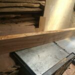 custom made insert made of wood (46 x 48 cm) for a drawer within custom made realization