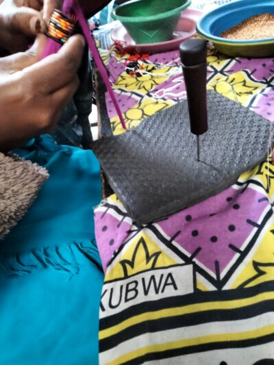 custom made unisex leather bag within custom made realization