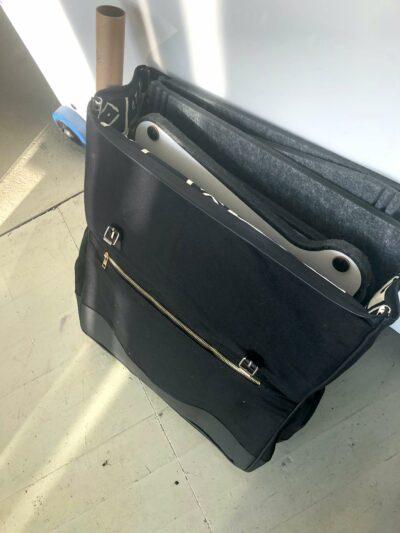 maßgeschneiderte Rucksacktaschen für unsere Produktsets Fotos vom Kunden