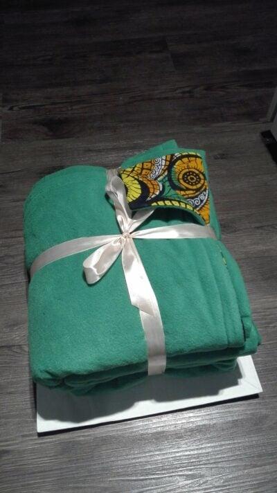 Custom made sofa throw