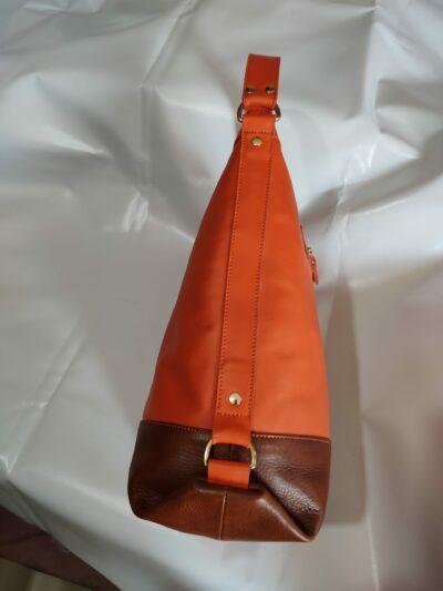 custom made soft leather bag within custom made realization