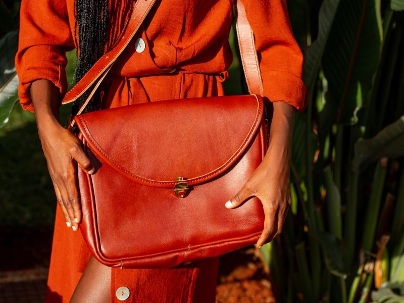 Theft proof ladies handbag