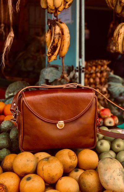 Custom made theft-proof ladies handbag like this: