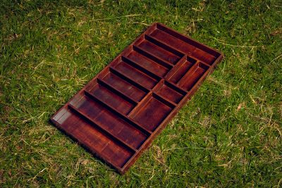 Made to measure cutlery tray - L=88cm, W=47cm, H=5,5