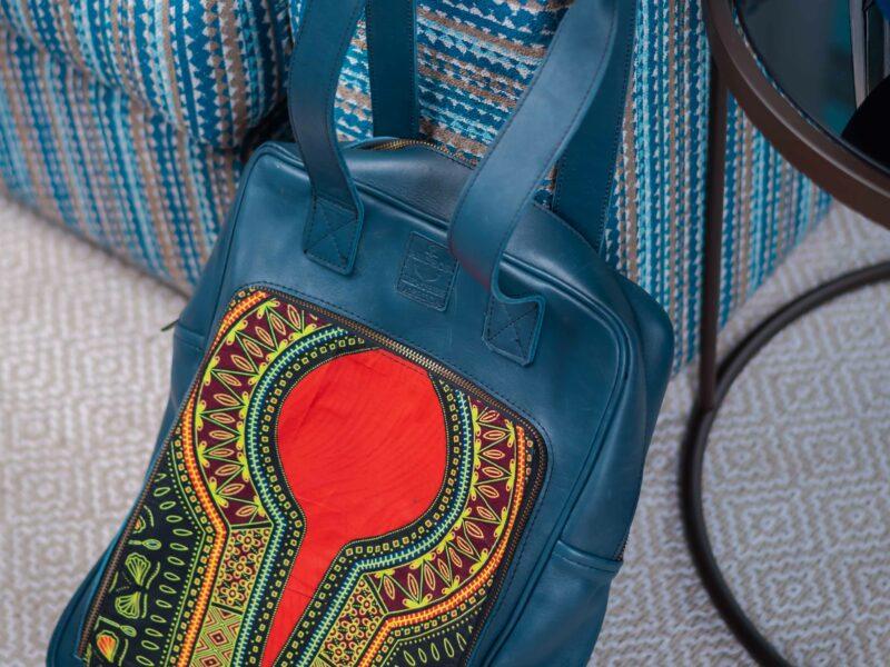Maßgefertigte blaue Laptoptasche für einen 15,6″ Laptop