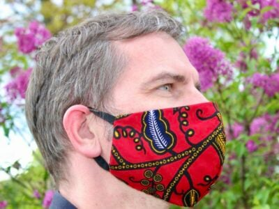 Face mask african print