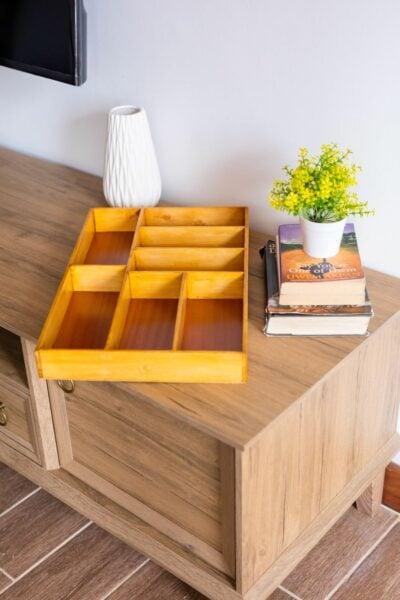 Custom made insert made of beech wood