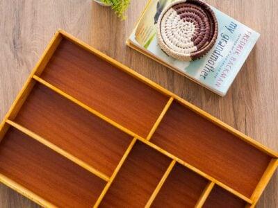 Maßgefertigter Einsatz aus Buchenholz