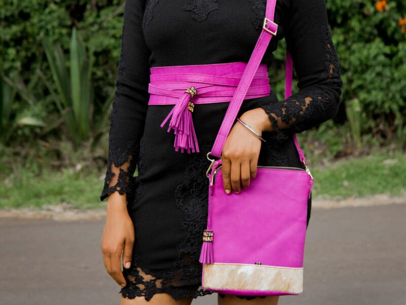 custom made unisex leather bag