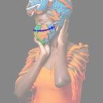 Custom made face mask