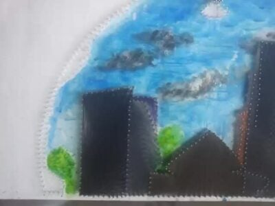 Custom art that conveys the values of our company within custom made realization