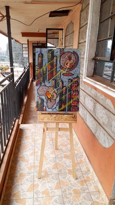 piece of art that conveys the values of our company within custom made realization