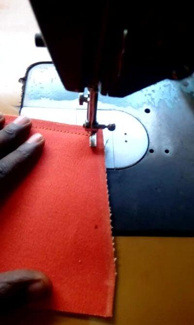 Custom made handbag (individual item) within custom made realization